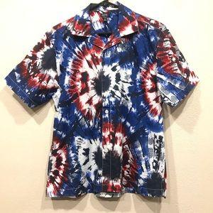 Tie Dye Camp Shirt
